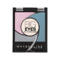 Maybelline Big Eyes Light Catching Palette Eyeshadow - 03 Luminous Turquoise