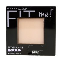 Maybelline Fit Me Set & Smooth (Normal to Dry) Pressed Powder 125 Nude Beige