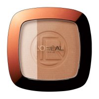 L'Oreal Glam Bronze Powder Bronzer Duo - 101 Harmonie Blondes