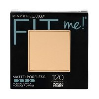 Maybelline Fit Me Matte & Poreless (Normal to Oily) Pressed Powder 120 Classic Ivory