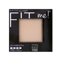Maybelline Fit Me Set & Smooth (Normal to Dry) Pressed Powder 225 Medium Buff