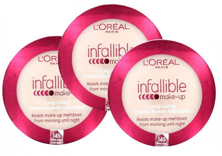 L Oreal Paris Infallible Makeup Long Lasting Creamy Powder