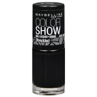 Maybelline Color Show Shredded Nail Color 60 Carbon Frost Overcoat