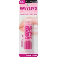Maybelline Baby Lips Moisturizing Lip Balm 110 Pop Of Pink