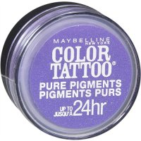 Maybelline Color Tattoo Pure Pigments Loose Powder Eyeshadow 15 Potent Purple