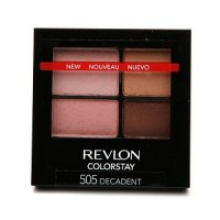 Revlon Colorstay 16 Hour Eyeshadow Quad - 505 Decadent