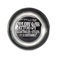 Maybelline Color Tattoo 24 Hour Leather Eyeshadow 100 Dramatic Black