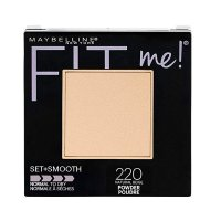 Maybelline Fit Me Set & Smooth (Normal to Dry) Pressed Powder 220 Natural Beige