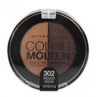 Maybelline Eye Studio Color Molten Eyeshadow Duo 302 Endless Mocha