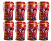 8 x Dora The Explorer 50Pack Hand & Face Wipes in Cup 400 Wipes+ Free Shipping!
