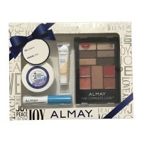 Almay The Complete Look Gift Pack - Makeup Palette with Eyeshadow, Blush, Lipgloss + More #200