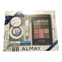 Almay The Complete Look Gift Pack - Makeup Palette with Eyeshadow, Blush, Lipgloss + More #100