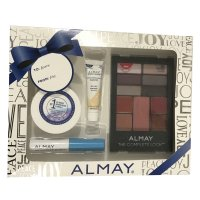 Almay The Complete Look Gift Pack - Makeup Palette with Eyeshadow, Blush, Lipgloss + More #300