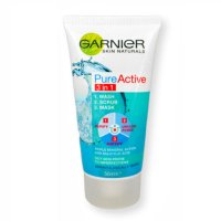 Garnier Pure Active 3 in 1 Wash, Scrub & Mask 50ml