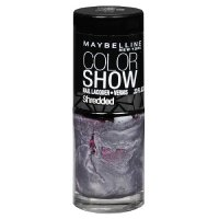Maybelline Color Show Shredded Nail Color 50 Silver Stunner Overcoat