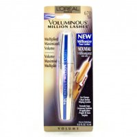 L'Oreal Voluminous Million Lashes Waterproof Mascara - 670 Black