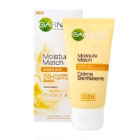 Garnier Skin Naturals Moisture Match Protect & Glow 24H Illuminating Light Lotion with SPF 15 (50ml)
