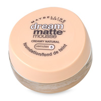 Maybelline Dream Matte Mousse Foundation Light 5 Creamy Natural